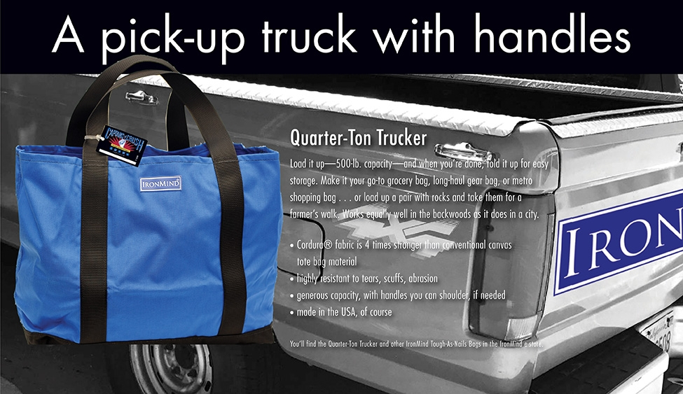 Quarter Ton Trucker: Pick-up truck with handles