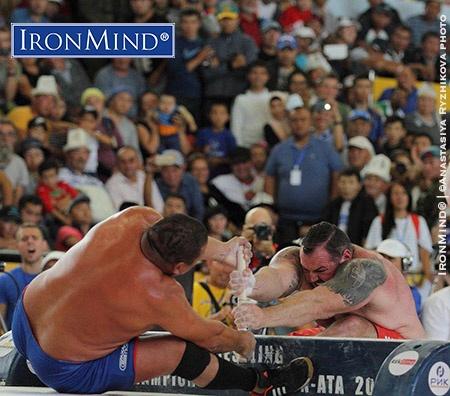 Massive Gains for Mas Wrestling